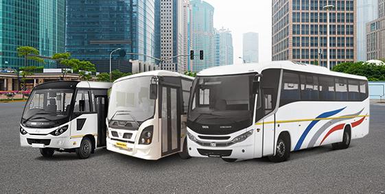 Tata Luxury Brand Bus