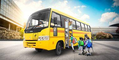 Tata school buses