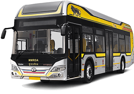 Tata Hybrid Hero Bus
