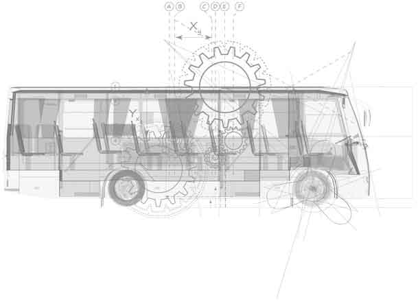 Tata Buses Graphical diagram