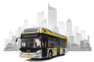 Tata Hybrid City Bus