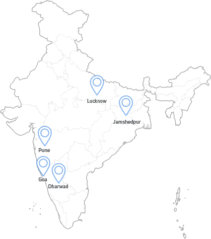 Tata Buses Location Map