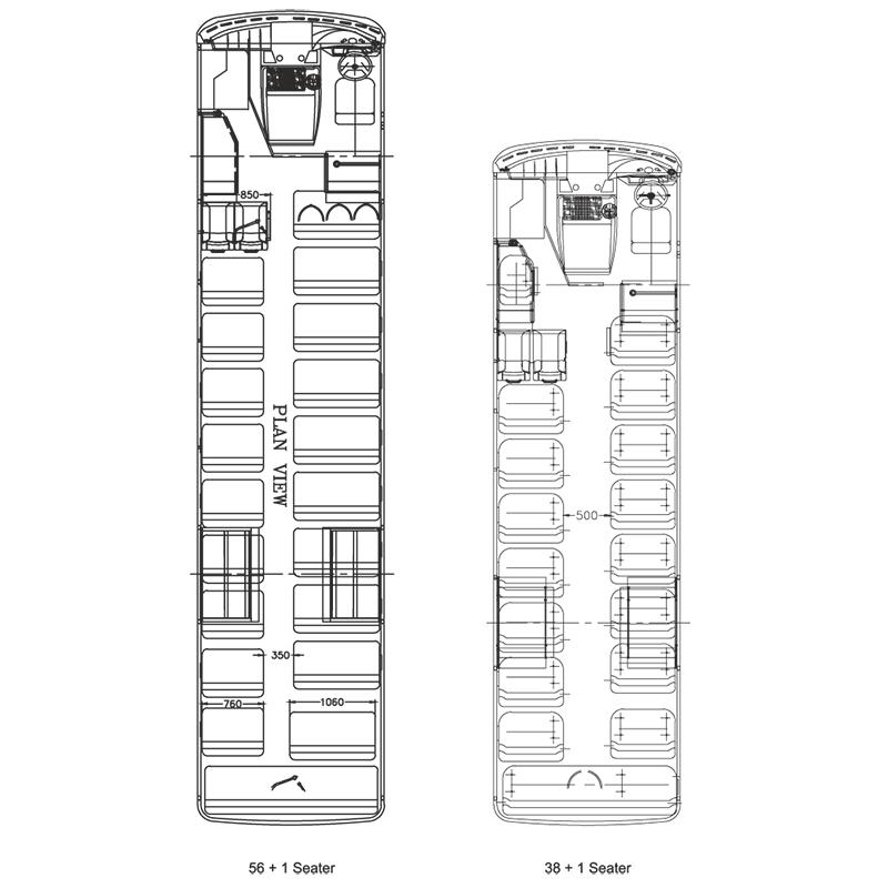 Tata Starbus Ultra Skool 56 AC