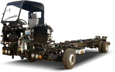 Tata SubUrban Bus Chassis LPO 10.2/52 AC