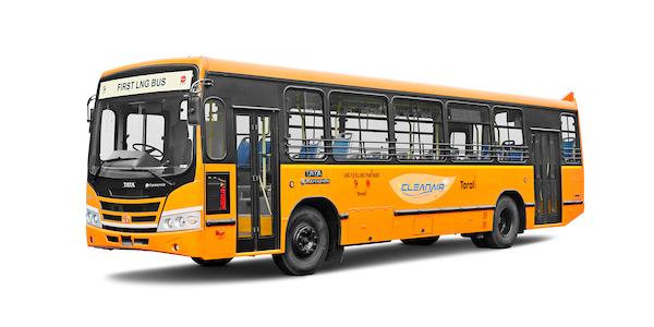 Tata LNG Marcopolo Buses