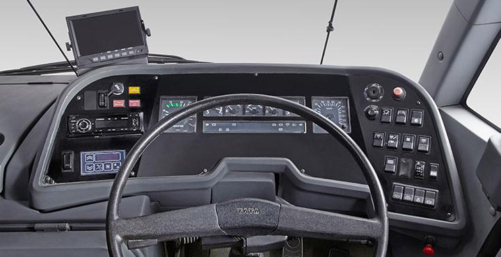 Tata Magna Buses Steering wheel