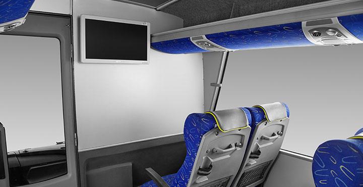 Tata Magna Buses LED TV