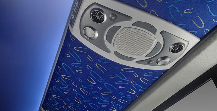 Tata Magna Bus Speaker AC regulator