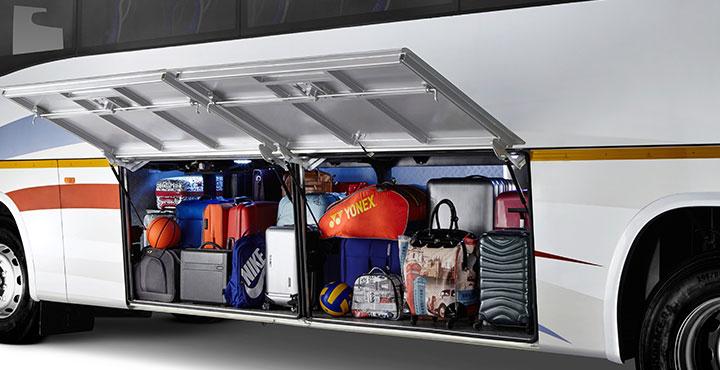 Tata Magna Luggage Space Large