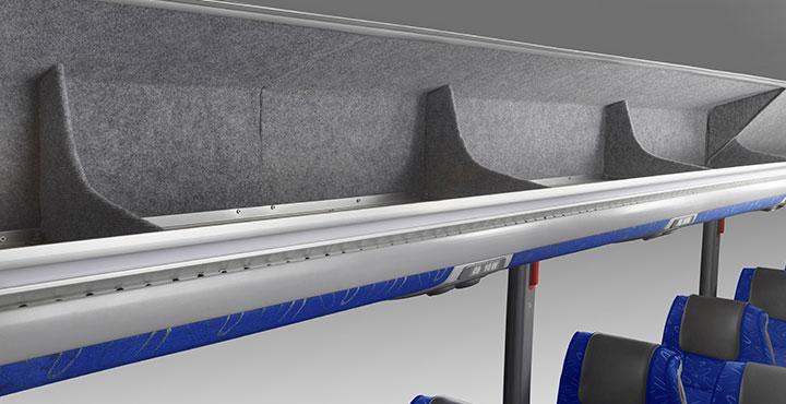Tata Magna Buses Lauggage Seperator