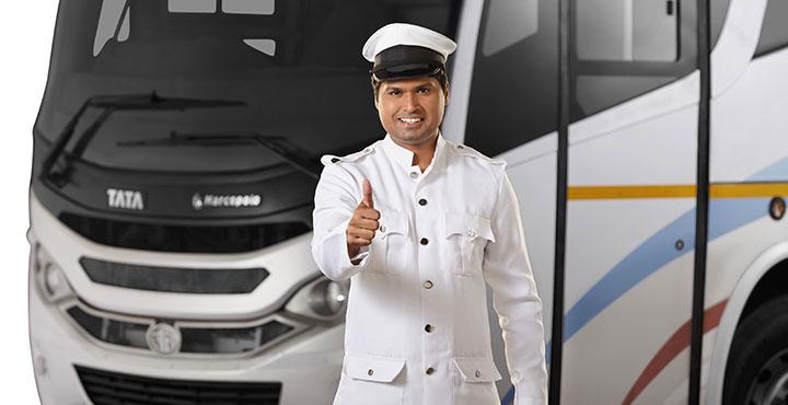 Tata Magna Bus Driver