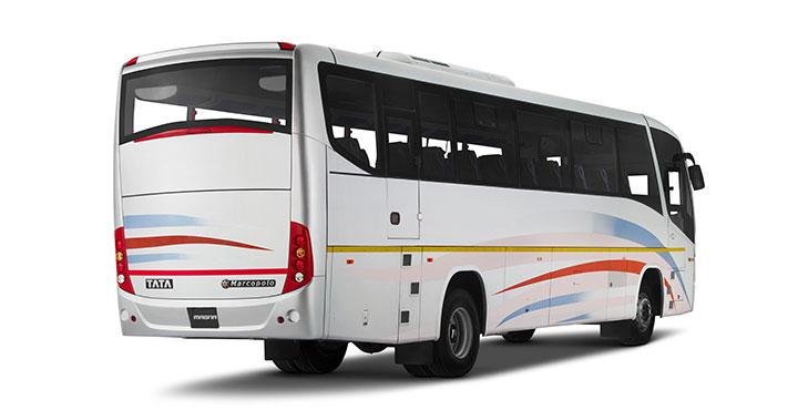 Tata Magna City Bus Back View