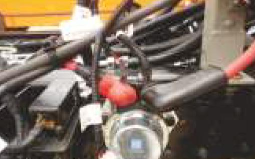 Tata Starbus 24 CNG Engine