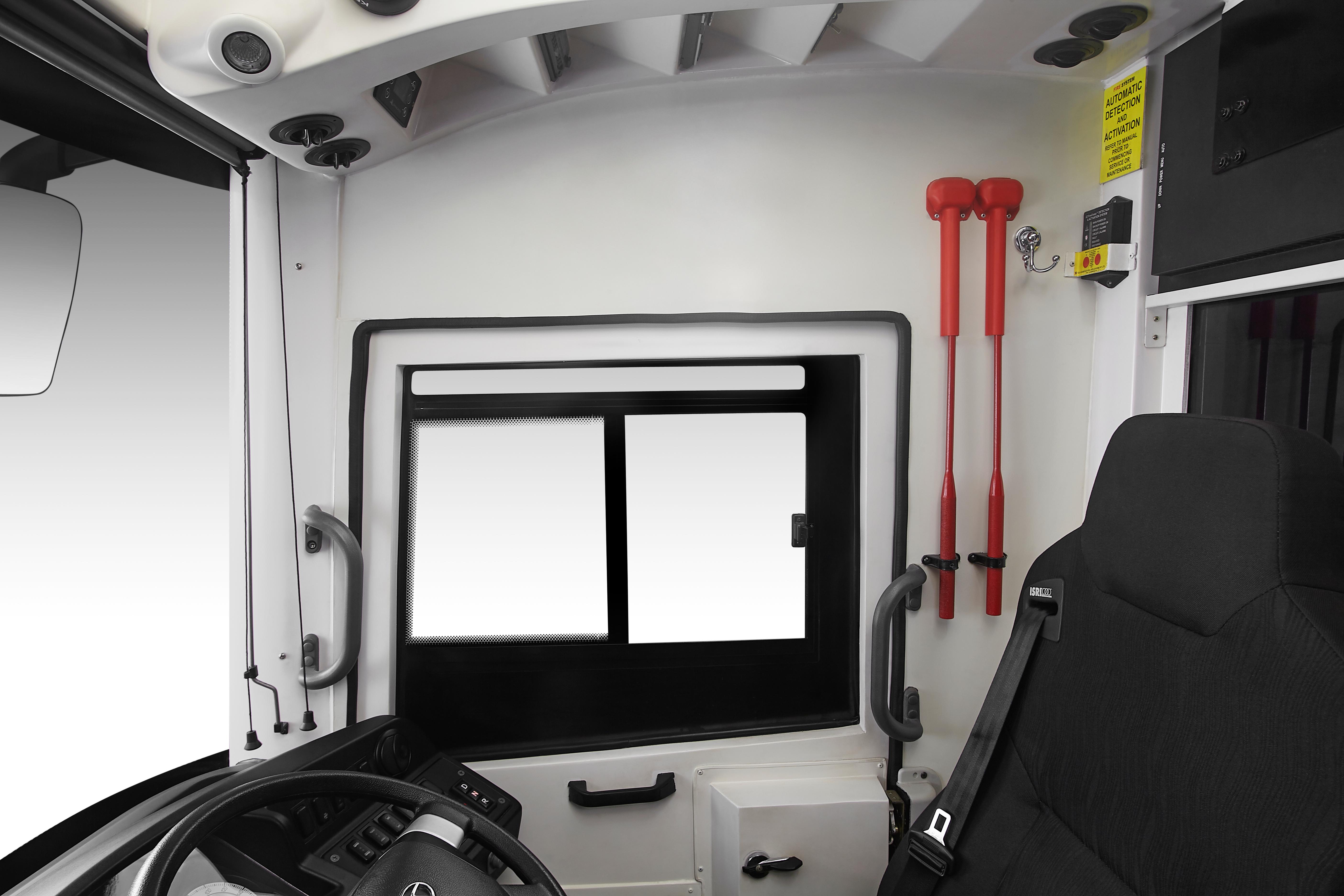 Tata Buses Emergency Cabin