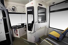 Tata Hybrid Starbus Driver cabin