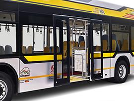 Tata Hybrid Bus zero emission