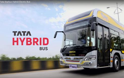 Tata Hybrid Bus