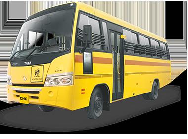 Tata Skool Starbus CNG LH