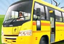 Tata School Bus Video