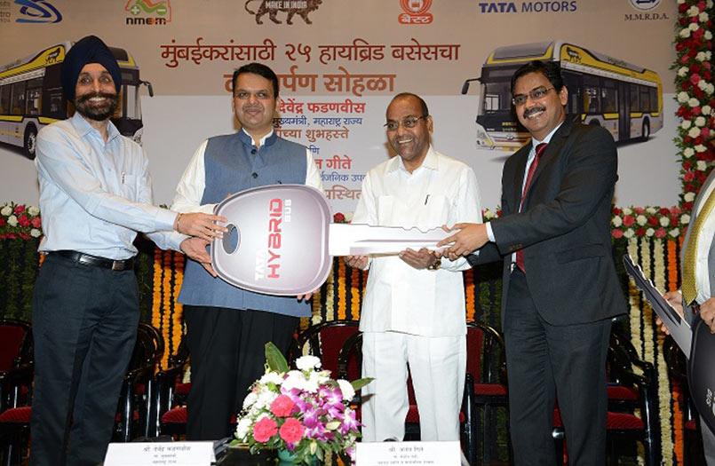 Tata Hybrid Bus Awards