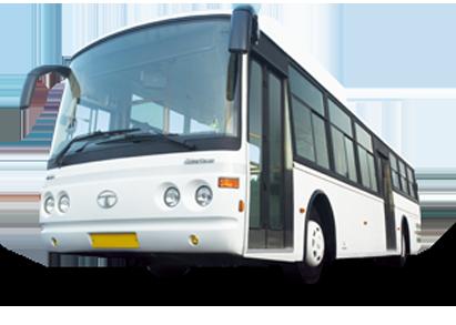 Tata CNG Tarmac Coach Buses